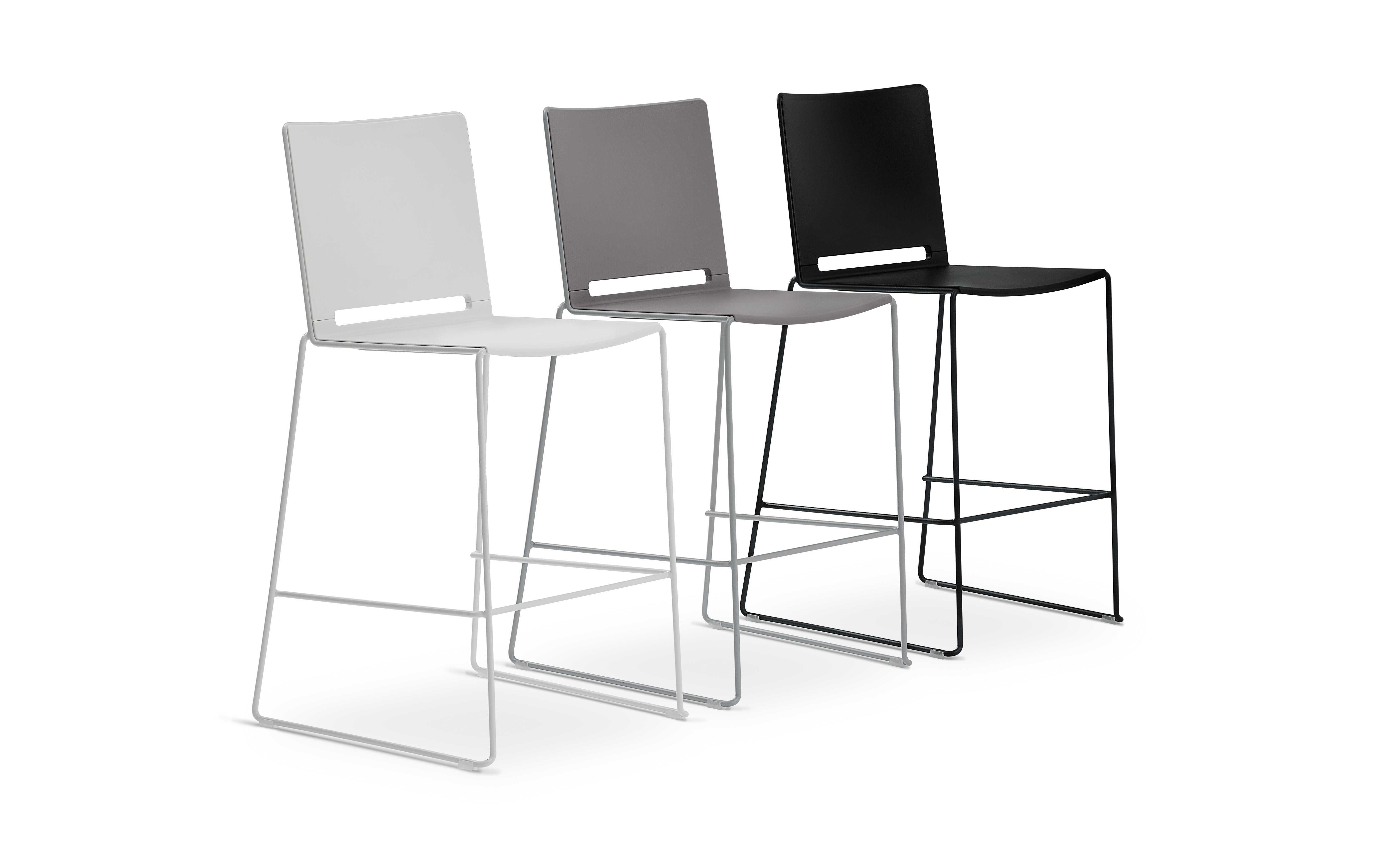 Lafil plastic chair chairs seating products for Sedie design 3d